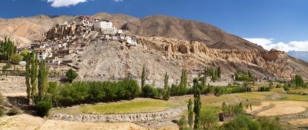 gompa: Lamayuru gompa - buddhist monastery in Indus valley - Ladakh - Jamu and Kashmir - India