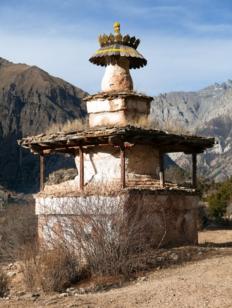 primeval: Ringmogaon - Phoksundo trek - Lower Dolpo - Village in western Nepal