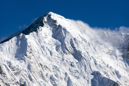 Mount Cho Oyu - way to Cho Oyu base camp - Everest area, Sagarmatha national park, Khumbu valley, Nepal