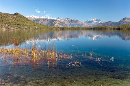 ララ ダハまたはマヘンドラ タル湖 - ララ Mugu 地区・ トレック カルナリ県、西ネパールのビュー