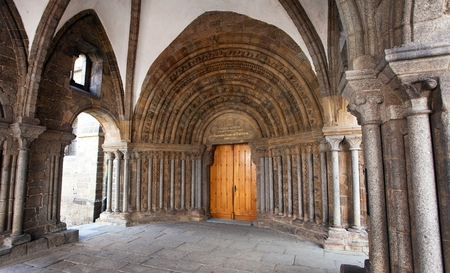trebic: TREBIC, CZECH REPUBLIC, 5th SEPTEMBER 2016 - gothic basilica Saint Procopius in Trebic, UNESCO site Editorial