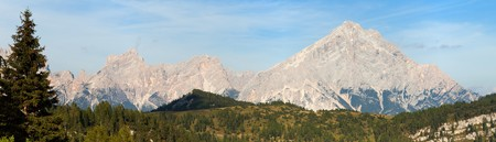 alpen: Monte Antelao, South Tirol, Alps Dolomites mountains, Italy