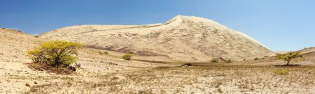 Cerro Blanco sand dune panoramic view, the highest dunes on the world, located near Nasca or Nazca town in Peru