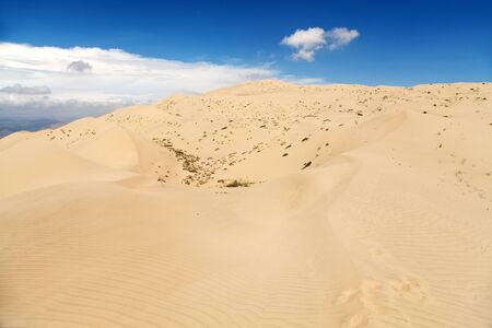 Cerro Blanco sand dune, the highest dunes on the world located near Nasca or Nazca town in Peru