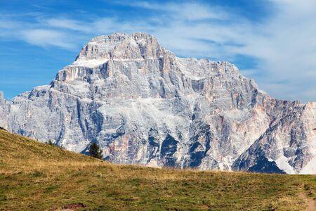 gruppo del Sorapiss, Italian alps dolomites mountains