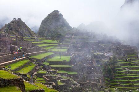 Machu Picchu, Peru, Inca Trail, Cusco region, Peru