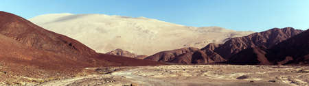 Cerro Blanco sand dune, one of the highest dunes on the world located near Nasca or Nazca town in Peru