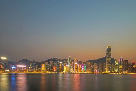 Panorama images of Hong Kong Island