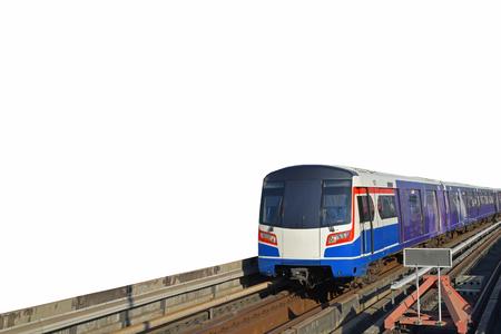 Electric train 版權商用圖片