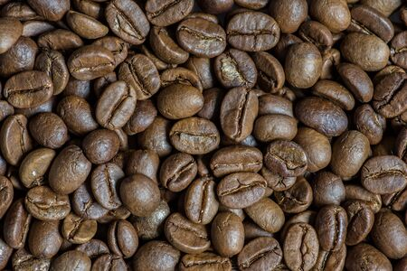 Coffee beans are not roasted.