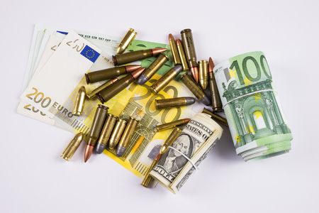munition: Banknotes and bullets