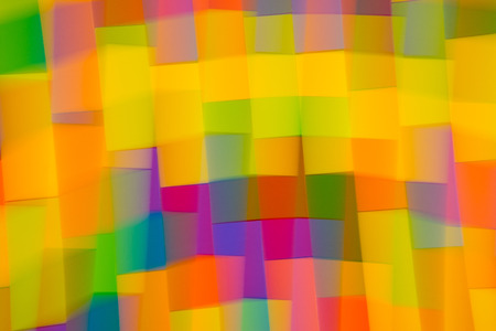 Blurry color blocks background, blurred abstract background Stock Photo