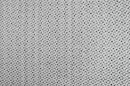 wire mesh: Grid background, wire mesh detail, black and white Stock Photo