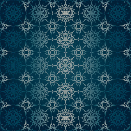Color vector ornamental seamless pattern for fabric and paper