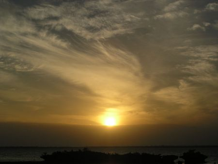 straits: Sunrise on Cebu Straits