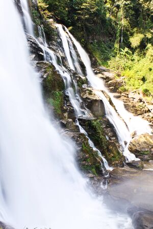 Wachirathan Waterfall in Thailand photo