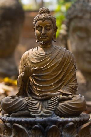 budda: Buddha statue in Wat Umong