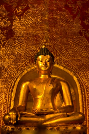 Buddhasihink in Wat Phra Singh, Chiangmai photo