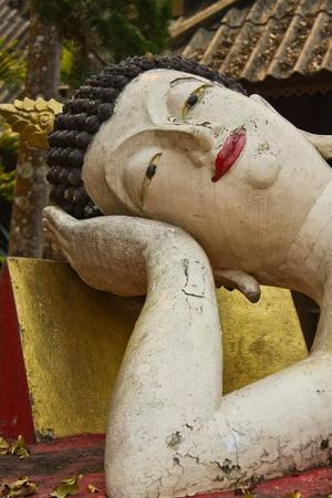 blissfull: Reclining Buddha Stock Photo