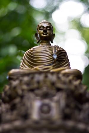 blissfull: Buddha statue in Wat Umong