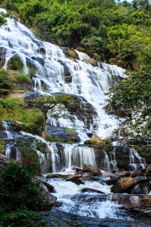 maeya water fall of chiangmai thailand photo