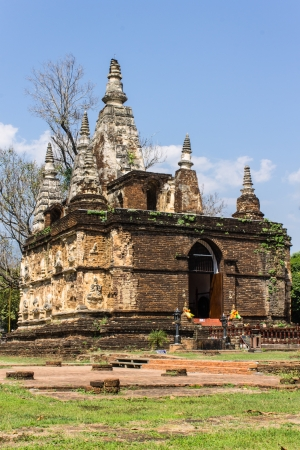 Chedi in Wat Chedyod , Chiangmai photo