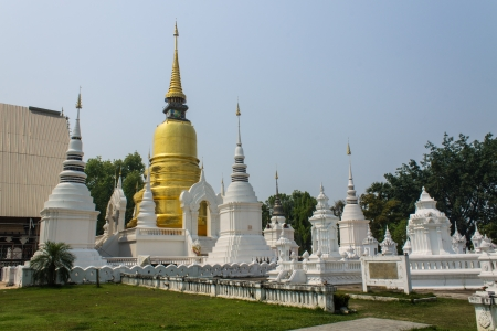 Chedi in Wat Suandok photo