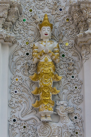 Art of Thai Buddhism church photo