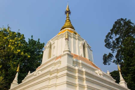 Chedi In Wat Cang Kump , Wiang Kum Kam photo
