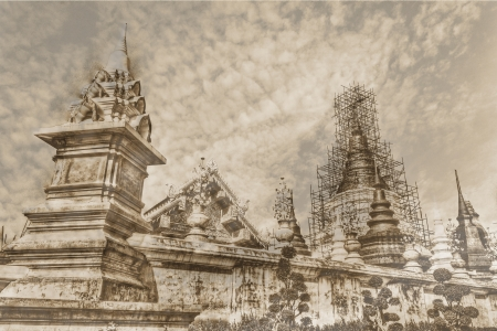 adore: vintage - Wat Ban Den, Maetang Chiangmai Thai Temple