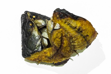 Dried fish , food photo