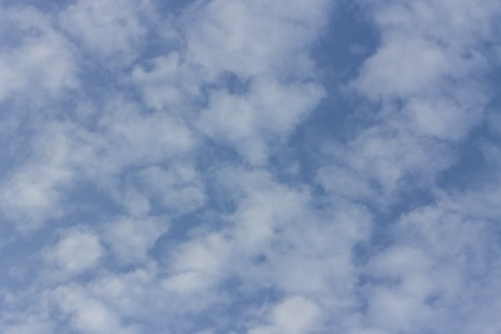 kingdom of heaven: blue sky and clouds