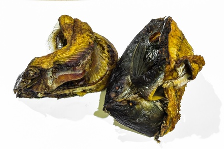Dried fish , Thai food photo