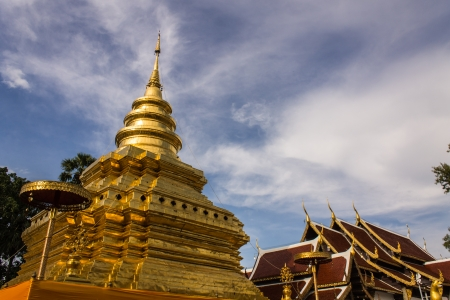 Wat Pra That Chomthong vora vihan , Chedi in Chiangmai Thailand Stock Photo - 22269502