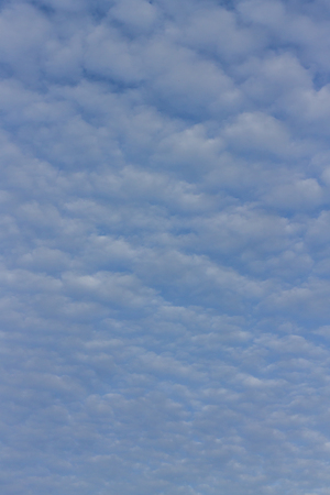 climatology: blue sky and clouds