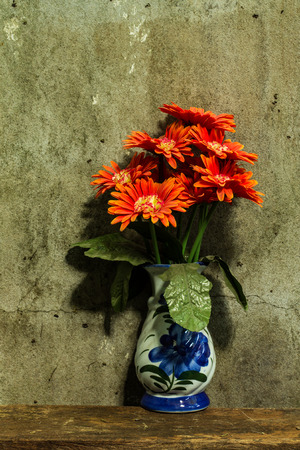 Still life with a bunch of flower photo
