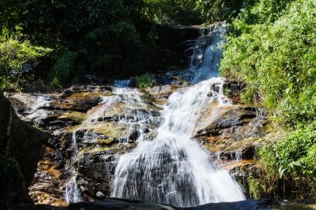 wang: Wang Ban Bua cascada en Doi Suthep-Pui Nationnal Park, Chiangmai Thaland