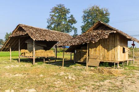 Old Thai House , Lanna Style photo