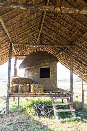 Old Thai Barn, lanna style photo