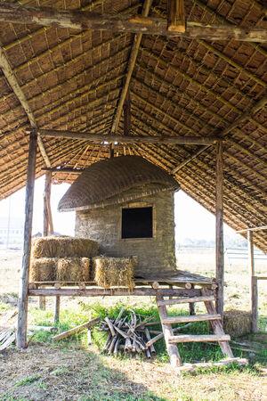 Old Thai Barn, lanna style photo