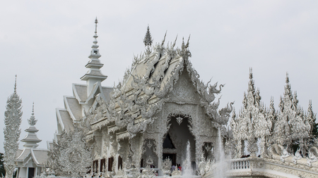 Wat Rong Khun , Thailand White Temple Chiang Rai Province photo