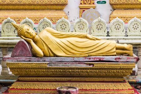 blissfull: Thai Reclining Buddha Statue