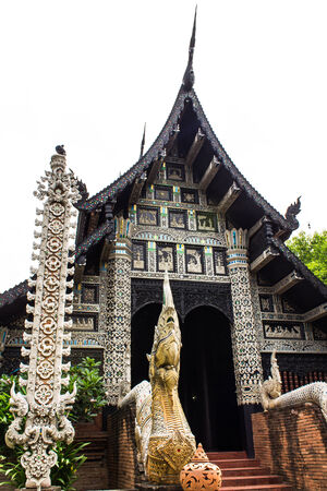 Wat lokmolee chiangmai Thailand photo