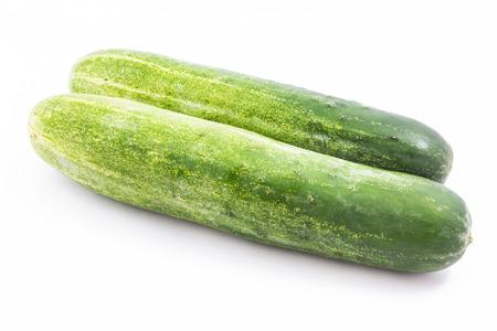 Cucumber isolated photo