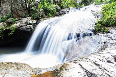 Wang Bua Ban waterfall in Doi Suthep-Pui Nationnal Park , Chiangmai photo