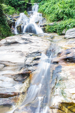 Wang Bua Ban waterfall in Doi Suthep-Pui Nationnal Park , Chiangmai