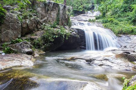 wang: Wang Ban Bua cascada en Doi Suthep-Pui Nationnal Park, Chiang Mai