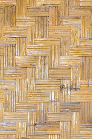 Bambú tejido textura Foto de archivo - 40118008