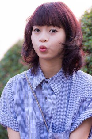 dult: Beautiful thai girl portrait