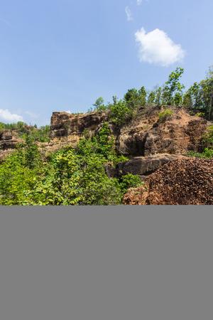 wang: Doi Tok grand canyon in Mae Wang national park Chiangmai Thailand